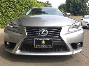 2016 Lexus IS 200t  Carfax 1-Owner - No AccidentsDamage Reported  Silver  We are not responsi