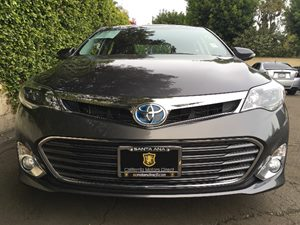 2013 Toyota Avalon Hybrid Limited  Magnetic Gray Metallic  We are not responsible for typograph