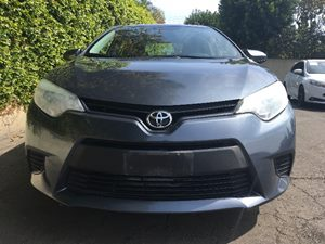 2014 Toyota Corolla LE Carfax 1-Owner - No AccidentsDamage Reported  Gray  We are not respons