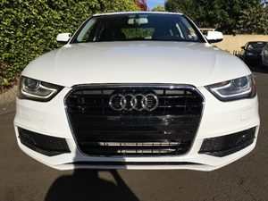 2015 Audi A4 20T Premium Plus Carfax 1-Owner  White  We are not responsible for typographical