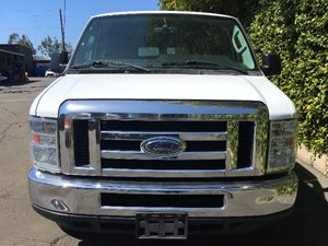 2013 Ford Econoline Wagon E-350 SD XLT  Oxford White  We are not responsible for typographical