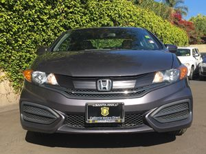 2015 Honda Civic Coupe EX Carfax 1-Owner - No AccidentsDamage Reported  Alabaster Silver Metal