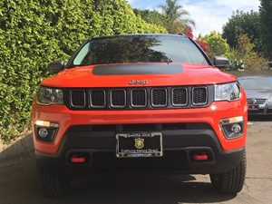 2018 Jeep Compass Trailhawk  Spitfire Orange Clearcoat  We are not responsible for typographica