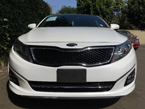 2015 Kia Optima SXL Turbo  Snow White Pearl  We are not responsible for typographical errors A