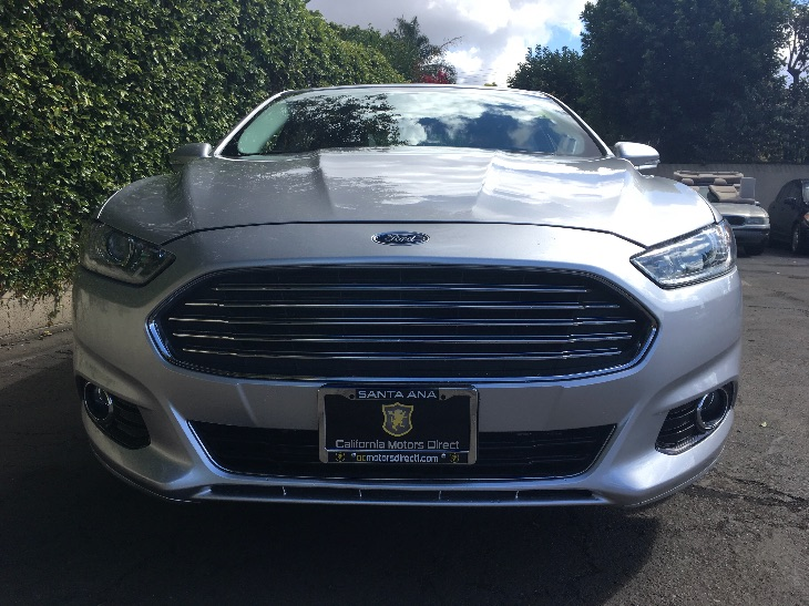 2016 Ford Fusion Energi Titanium  Ingot Silver All advertised prices exclude government fees an