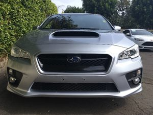 2016 Subaru WRX  Carfax 1-Owner  Ice Silver Metallic  We are not responsible for typographical