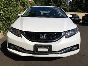 2015 Honda Civic Sedan EX-L  White Orchid Pearl  We are not responsible for typographical error
