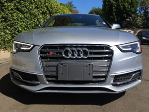 2015 Audi S5 30T quattro Premium Carfax 1-Owner - No AccidentsDamage Reported  Floret Silver