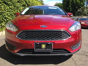 2016 Ford Focus SE Carfax 1-Owner - No AccidentsDamage Reported  Red  We are not responsible