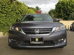 2015 Honda Accord Sedan Sport Carfax 1-Owner  Gray  We are not responsible for typographical e
