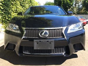 2015 Lexus GS 350 F-Sport  Black All advertised prices exclude government fees and taxes any f