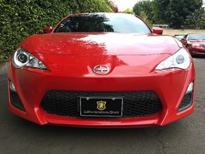 2015 Scion FR-S Base Carfax 1-Owner - No AccidentsDamage Reported  Red  We are not responsibl