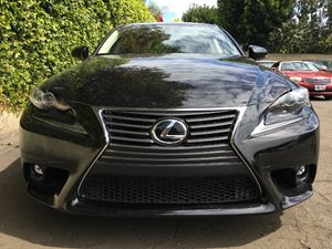 2015 Lexus IS 250 Base Carfax 1-Owner  Black  We are not responsible for typographical errors
