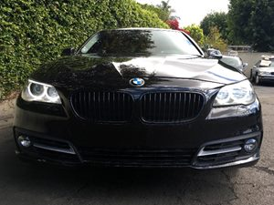 2015 BMW 5 Series 528i Carfax 1-Owner - No AccidentsDamage Reported Chrome Side Windows Trim Co