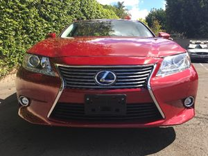 2015 Lexus ES 300h  Air Conditioning AC Audio AmFm Stereo Chrome Side Windows Trim Displace