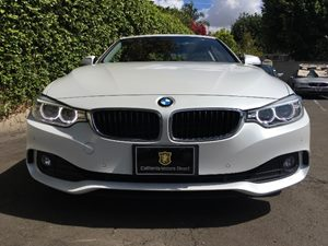 2015 BMW 4 Series 428i Carfax 1-Owner Body-Colored Door Handles Body-Colored Front Bumper Body-