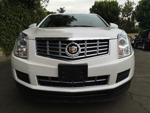 2015 Cadillac SRX Base Carfax 1-Owner  White  We are not responsible for typographical errors