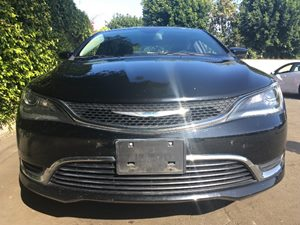 2015 Chrysler 200 Limited  Black Clearcoat  We are not responsible for typographical errors Al