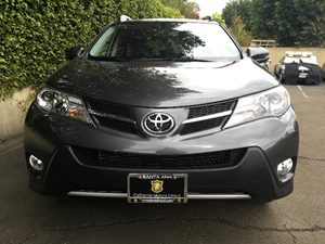 2015 Toyota RAV4 Limited  Magnetic Gray Metallic  All advertised prices exclude government fees