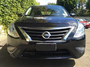 2015 Nissan Versa 16 SV Carfax Report - No AccidentsDamage Reported  Super Black  We are not