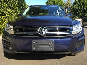 2015 Volkswagen Tiguan S  Night Blue Metallic  All advertised prices exclude government fees an