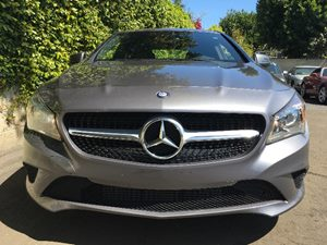 2014 MERCEDES CLA 250 CLA 250  Mountain Gray Metallic  We are not responsible for typographical
