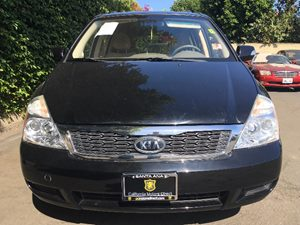2012 Kia Sedona LX  Midnight Black  We are not responsible for typographical errors All prices