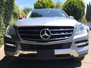 2015 MERCEDES ML 350 ML 350  Silver  We are not responsible for typographical errors All price