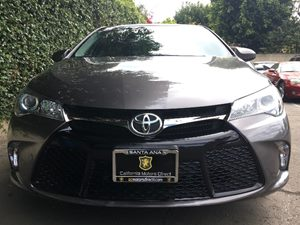 2015 Toyota Camry SE  Gray  All advertised prices exclude government fees and taxes any financ
