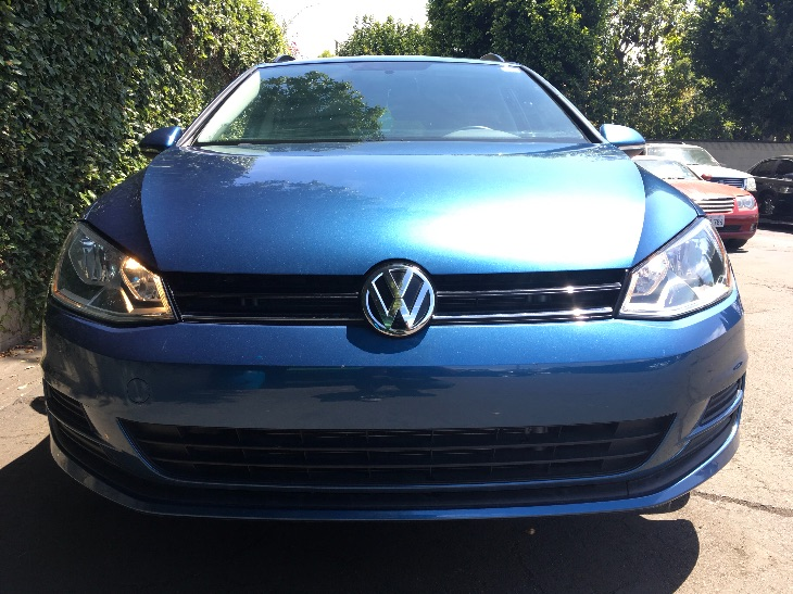2015 Volkswagen Golf SportWagen TDI S  Blue All advertised prices exclude government fees and t