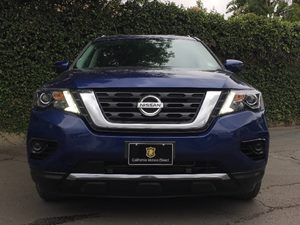 2017 Nissan Pathfinder S  Caspian Blue  All advertised prices exclude government fees and taxes