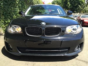 2012 BMW 1 Series 128i  BLACK  We are not responsible for typographical errors All prices list