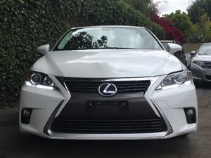 2015 Lexus CT 200h Base  White  All advertised prices exclude government fees and taxes any fi