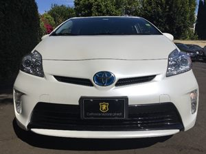 2015 Toyota Prius Two  Super White All advertised prices exclude government fees and taxes any