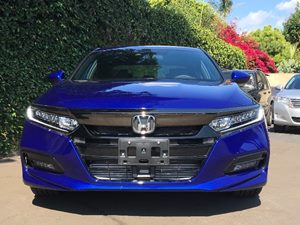 2018 Honda Accord Sedan Sport  Blue  All advertised prices exclude government fees and taxes a