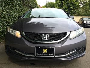 2015 Honda Civic Sedan EX  Gray  All advertised prices exclude government fees and taxes any f