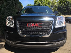 2017 GMC Terrain SLE-1  Onyx Black All advertised prices exclude government fees and taxes any