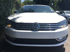 2015 Volkswagen Passat Limited Edition PZEV  Candy White  All advertised prices exclude governm