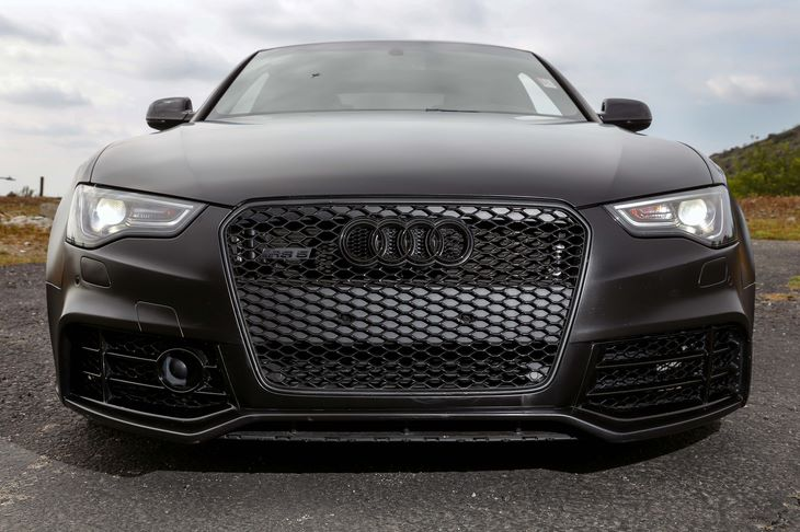 2015 Audi RS 5 42 quattro  Black All advertised prices exclude government fees and taxes any