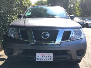 2017 Nissan Frontier SV  Gray  All advertised prices exclude government fees and taxes any fin