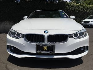 2015 BMW 4 Series 428i  White All advertised prices exclude government fees and taxes any fina