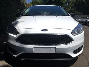 2017 Ford Focus S  Oxford White  All advertised prices exclude government fees and taxes any f