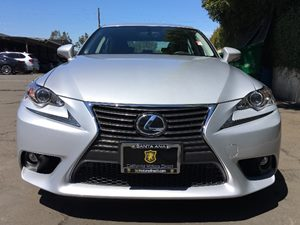 2016 Lexus IS 200t Base  Silver  All advertised prices exclude government fees and taxes any f