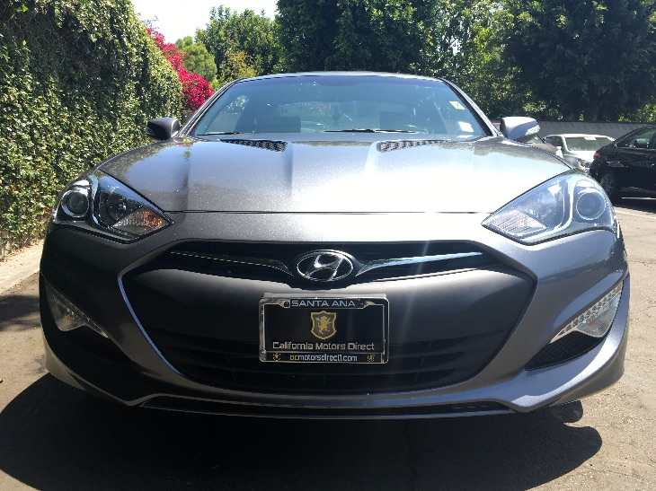 2015 Hyundai Genesis Coupe 38 Ultimate  Empire State Gray All advertised prices exclude govern