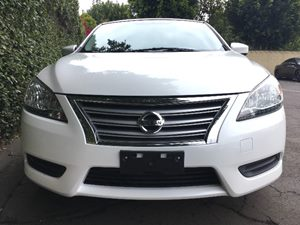 2014 Nissan Sentra S  Aspen White All advertised prices exclude government fees and taxes any