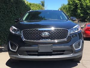 2017 Kia Sorento LX V6  Ebony Black  All advertised prices exclude government fees and taxes a