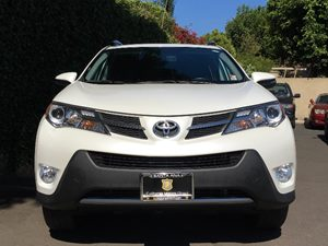 2015 Toyota RAV4 Limited  White All advertised prices exclude government fees and taxes any fi