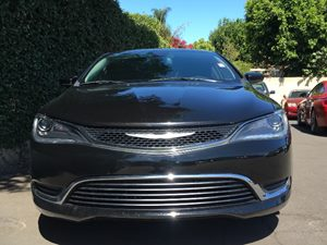 2015 Chrysler 200 Limited  Black Clearcoat  All advertised prices exclude government fees and t