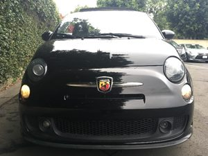 2015 FIAT 500c Abarth  Nero Puro Straight Black All advertised prices exclude government fees