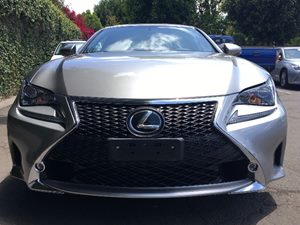 2015 Lexus RC 350 F-Sport  Silver  All advertised prices exclude government fees and taxes any